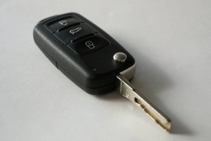 Laser cut car key - Right on Time Locksmith